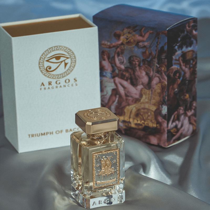 Argos Fragrances Triumph of Bacchus Artwork
