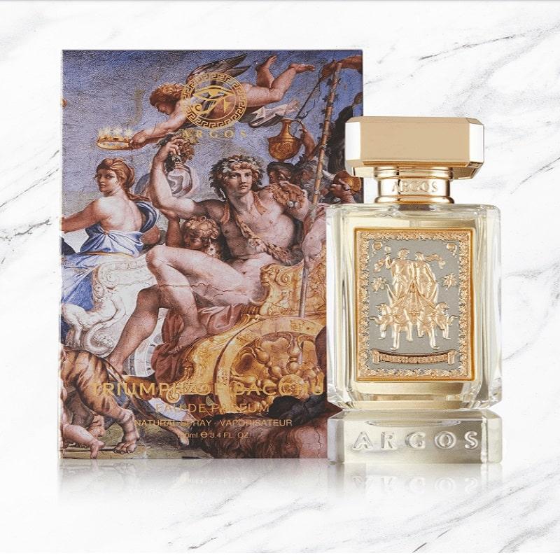 Argos Fragrances Triumph of Bacchus Product Marble