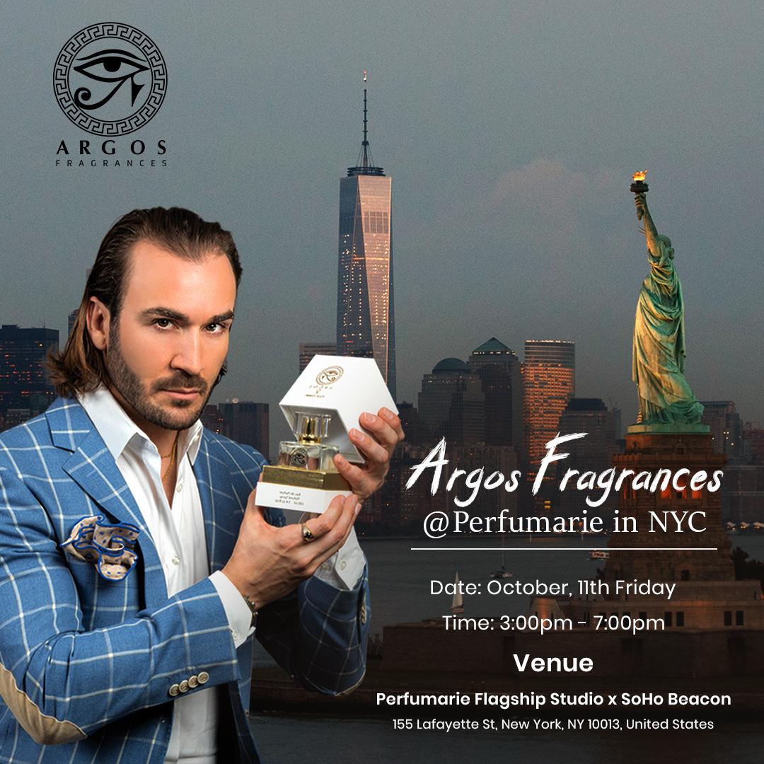 Argos Fragrances Event in New York City