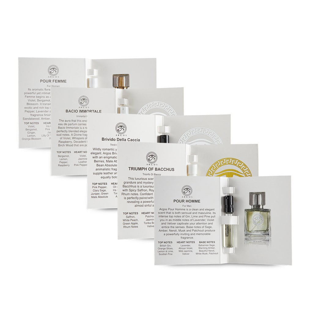 Argos Sample Pack of 5 Fragrances