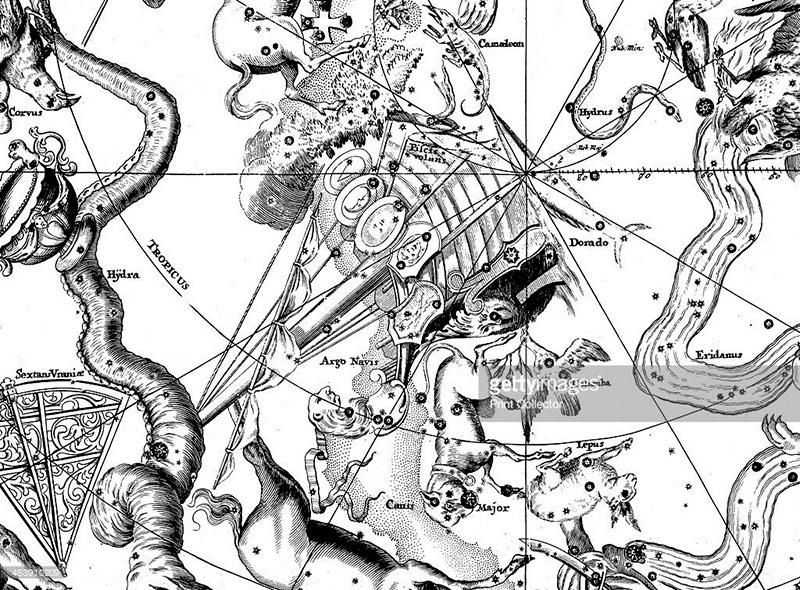 Argos ANCIENT GREEK ASTRONOMICAL MAP