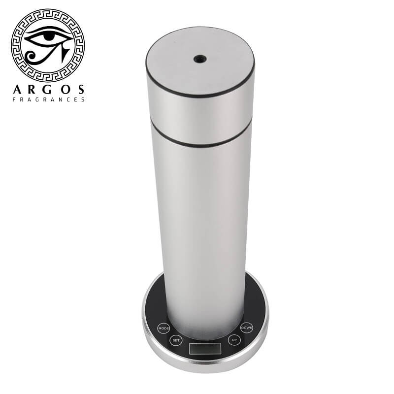 ARGOS Pure Oil Cold Air Diffuser Programmable Control Silver Top 2