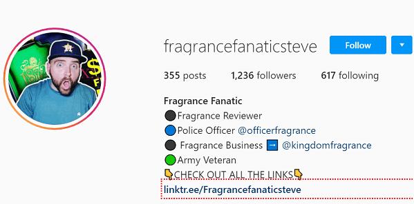 Fragrance Fanatic Steve Instagram