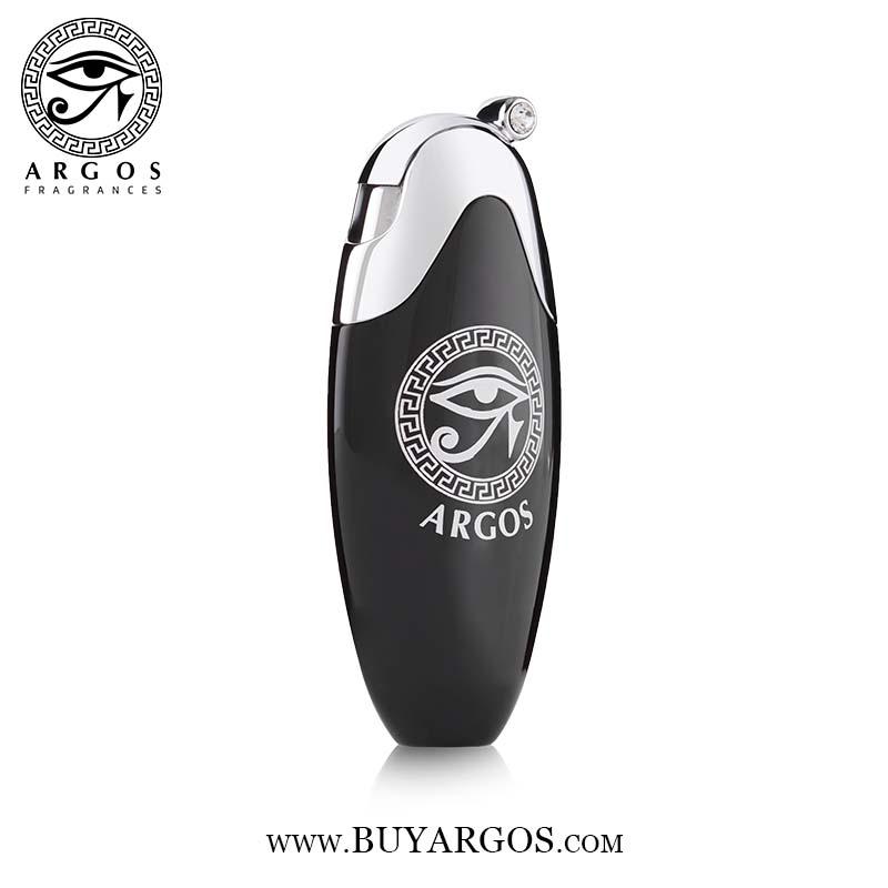 Argos Fragrance Oval Atomizer Black Right Face