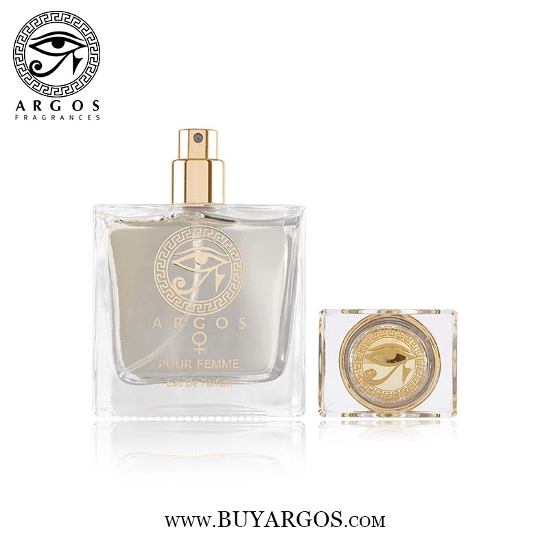 Argos Pour Femme Crystal Perfume Cap Open