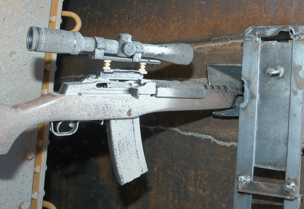 AR-15 style rifle in killdozer