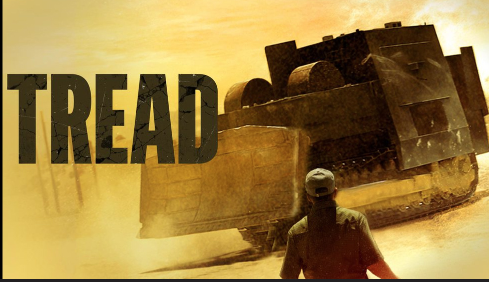 This trailer image shows one scene from the film TREAD.
