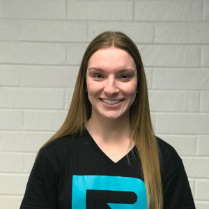 Rise Up Athletics Coach Aimee