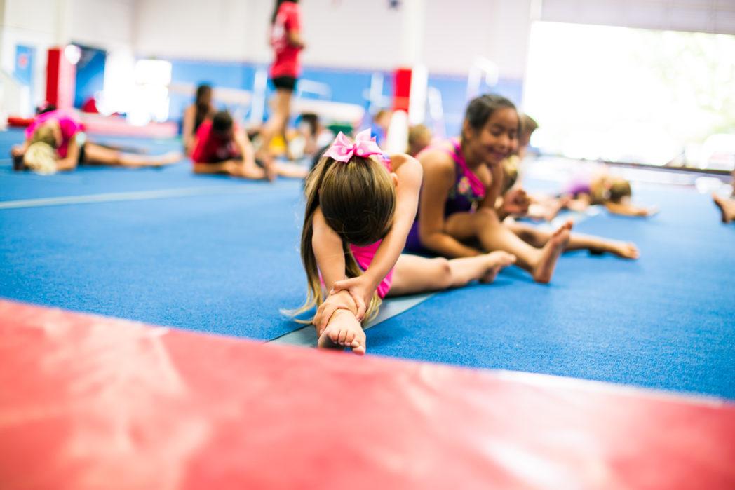 Rise Up Athletics gym children