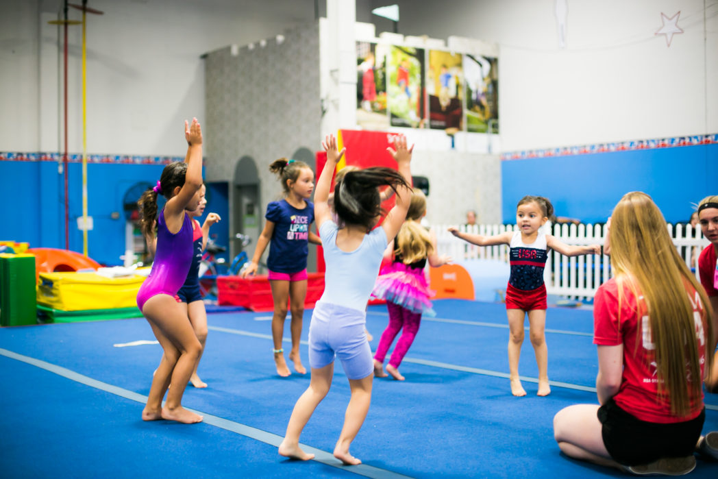 Rise Up Athletics Kidnastics