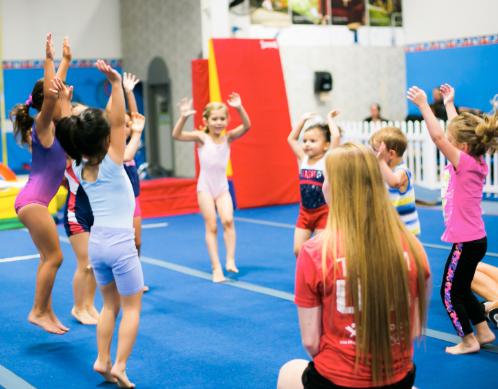 Rise Up Athletics children camp program