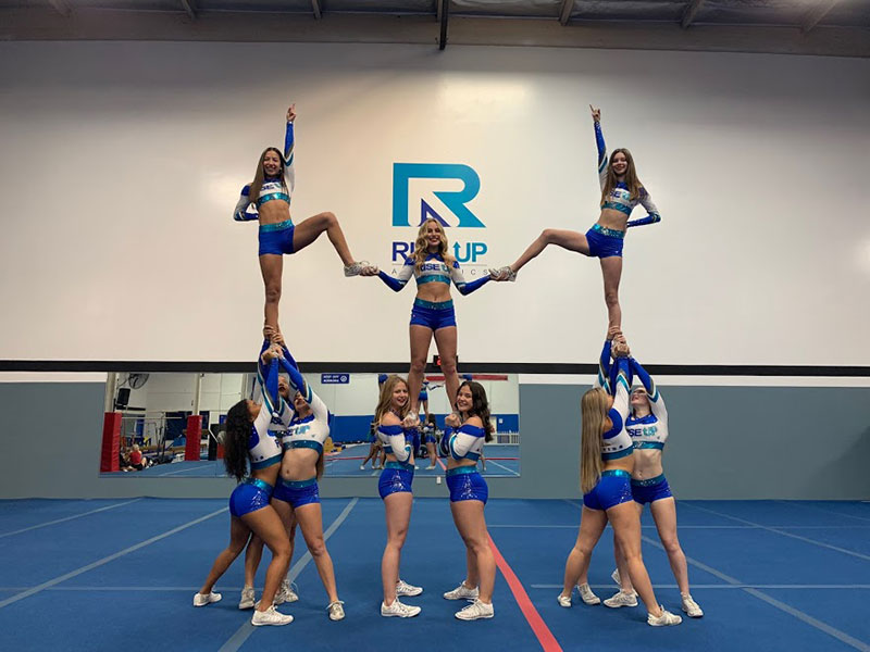 Rise Up Athletics All Stars Cheer