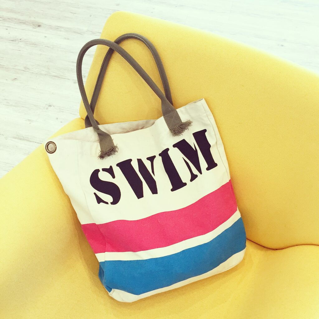 Swim bag I used for work