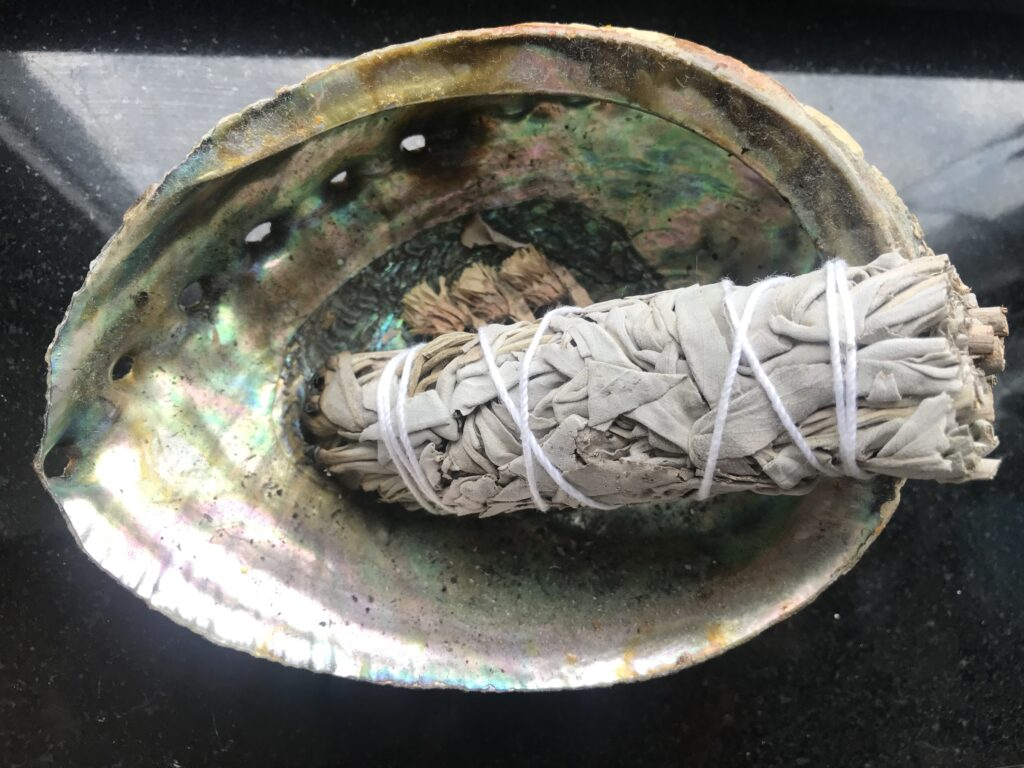 Burning sage can lift your spirits and boost your mood quickly.