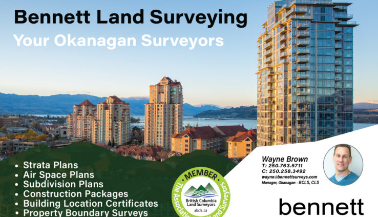 Bennett Land Surveying in Kelowna