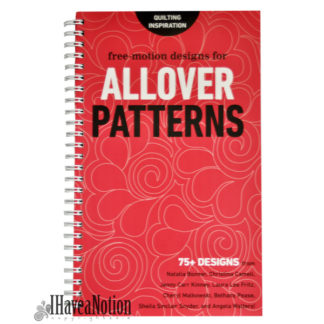 Book of Allover Patterns -a compilation of Free-Motion quilting designs
