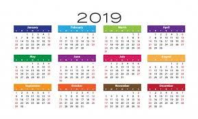 photo of 12 month calendar