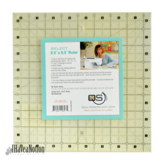 """Quilters Select 8 1/2"""" square ruler"""