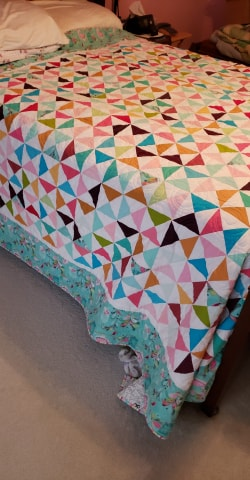 Inspirational Hour Glass Quilt