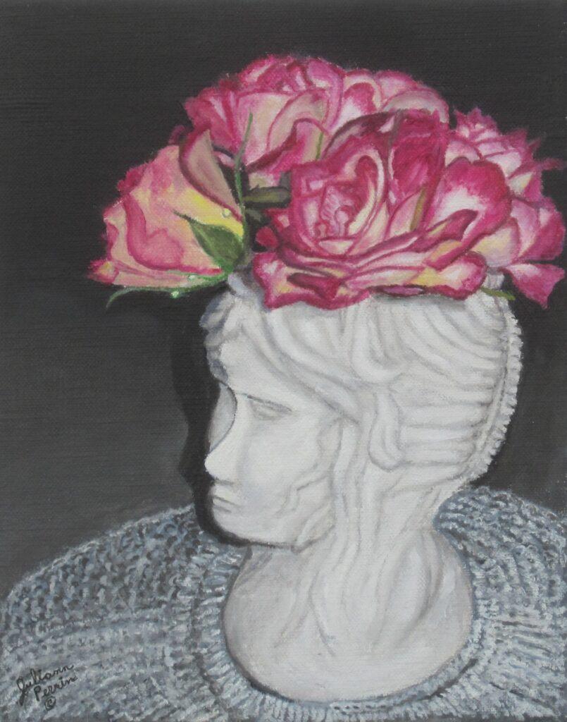 Juliann Perrin #97 Floral Bonnet Oil $400.00