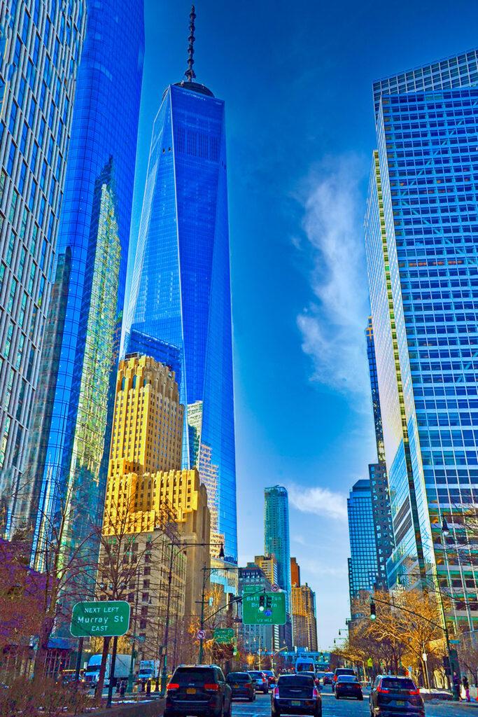"""""""The City"""" Lisa S. McLeod-Simmons Photography Photograph on metal $500"""