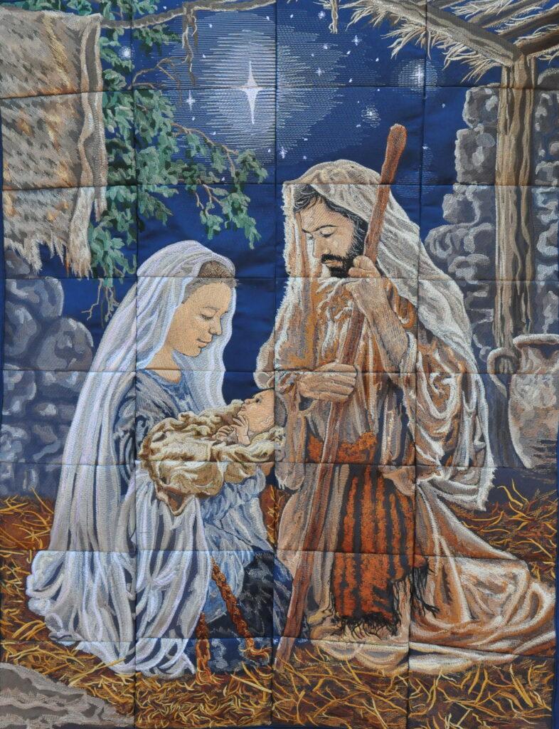Virginia Walker Guild Artist Number - 12 Title - O Holy Night Category/Medium - Fiber Arts Price - $500