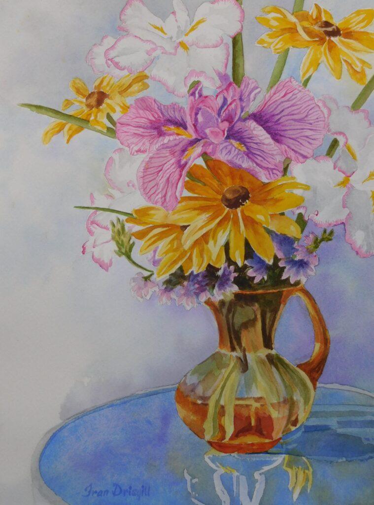 Fran Drisgill #174 Delight of Spring Watercolor $400