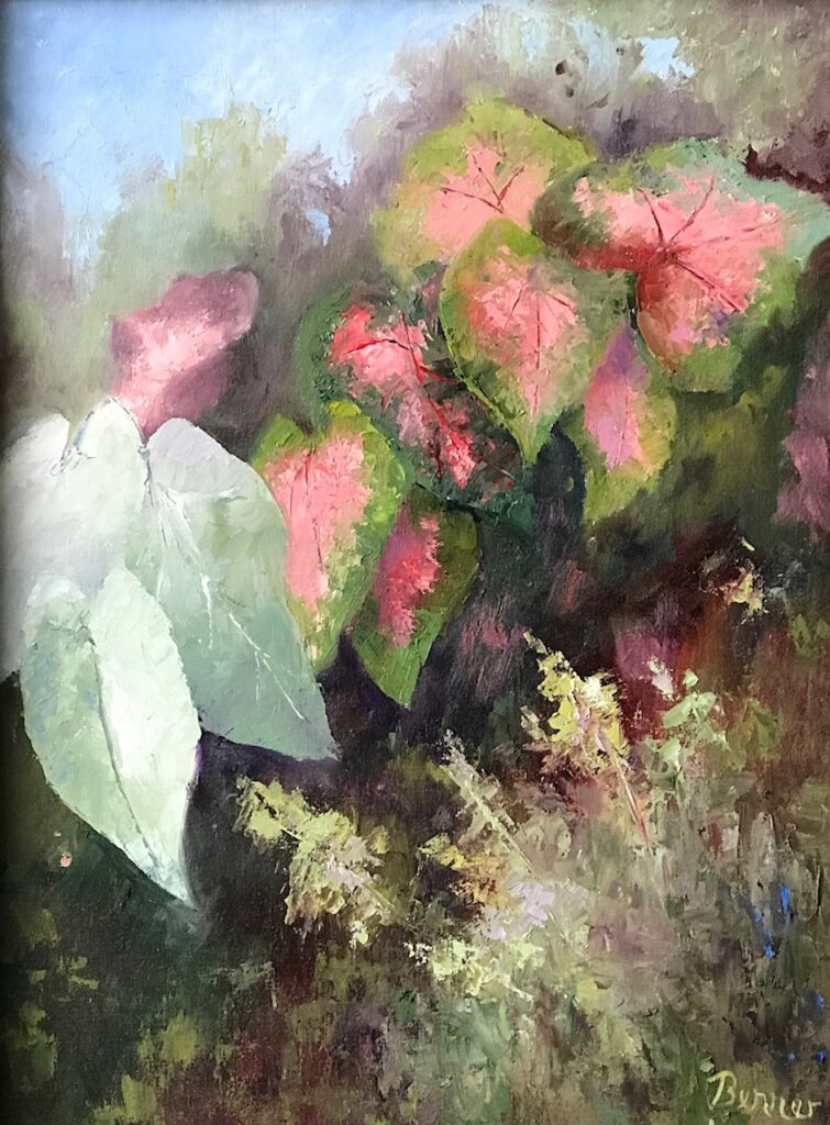 Sharon Benner #42 Coleus Garden Oil $300.00