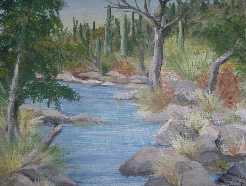 Maureen Crum Artist #75 Arizona Acrylic $200.00
