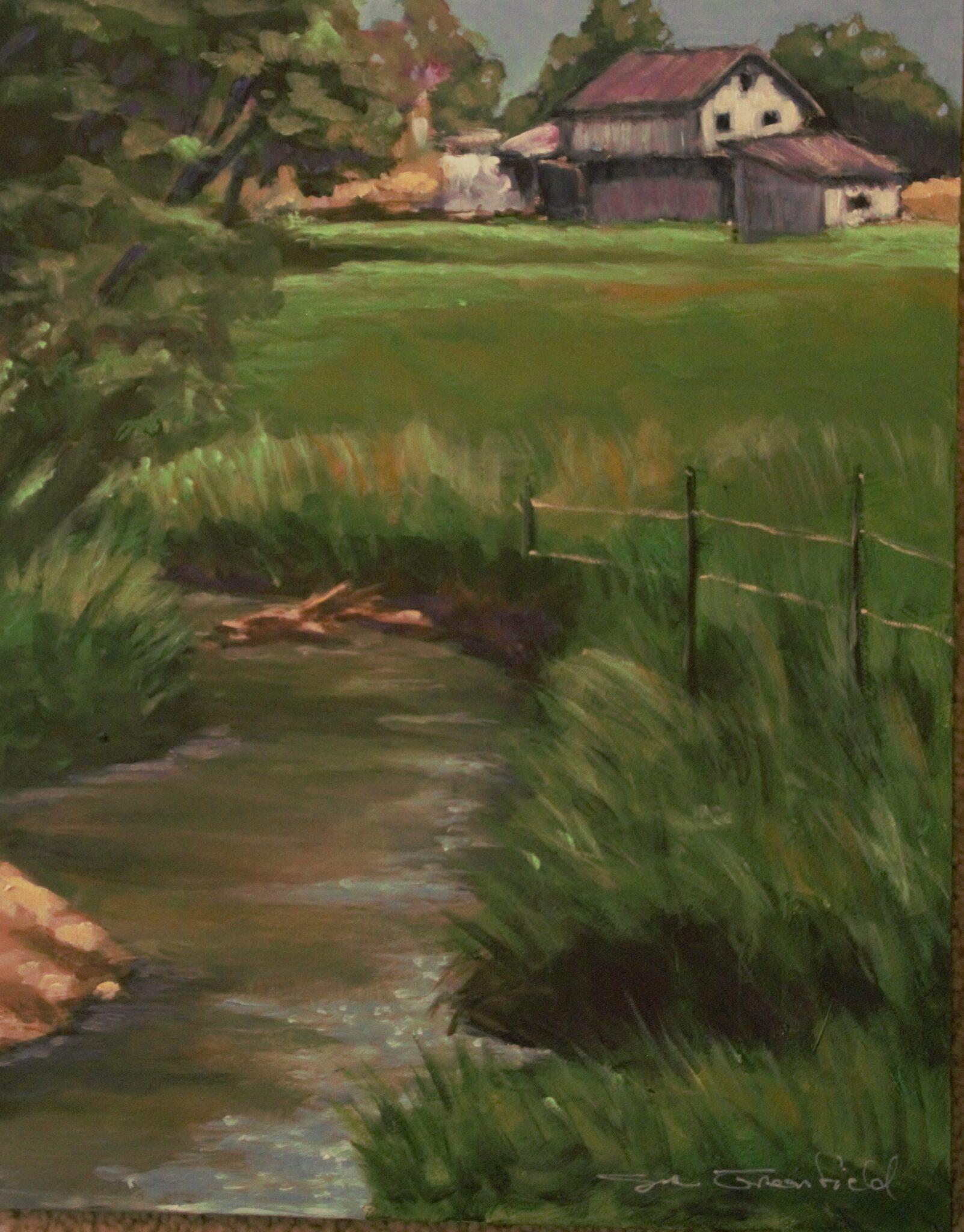 "Sue Greenfield #133 ""Summer Day"" $275.00"
