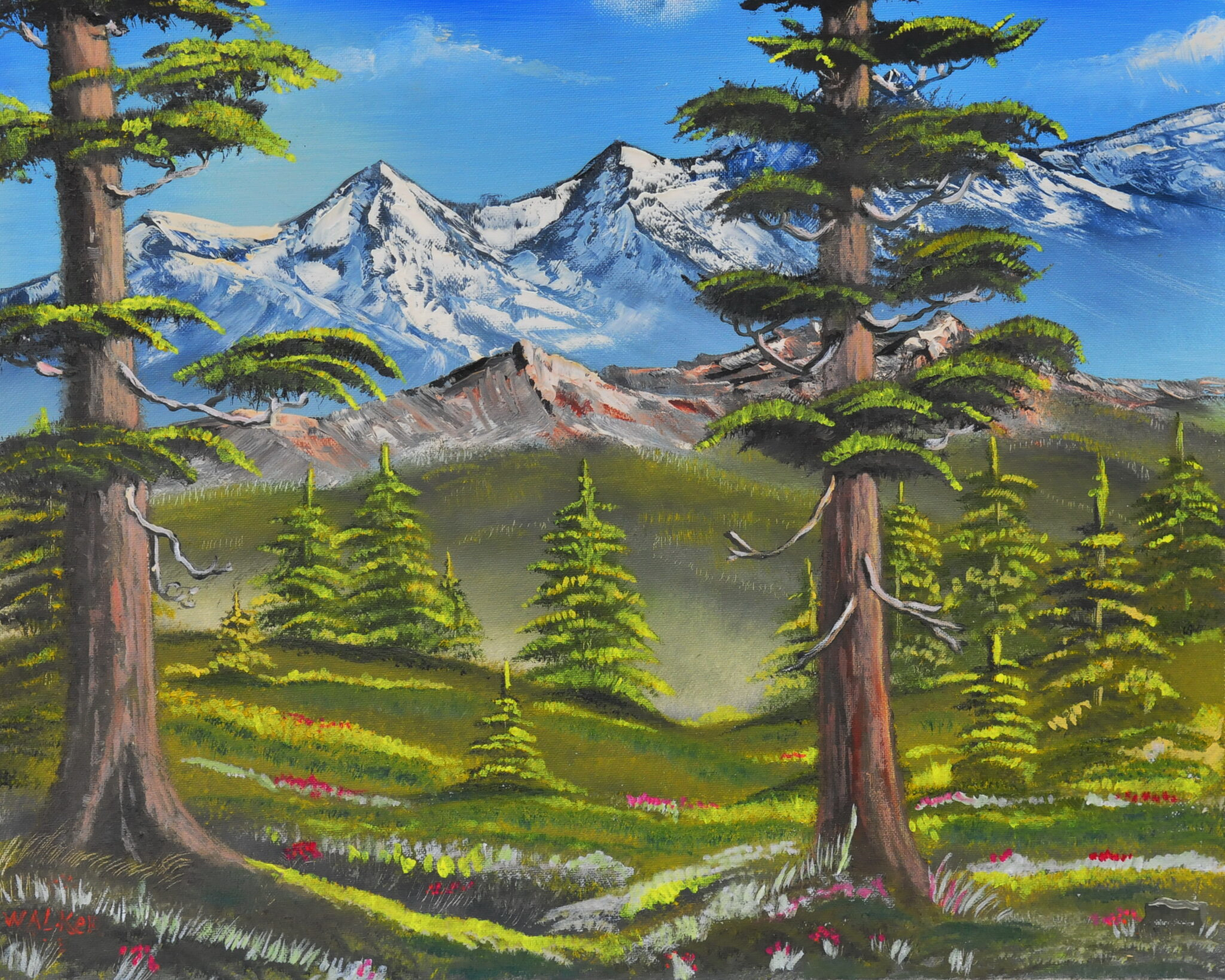 """John W Walker #23 """"Mountain Majesty"""" $300.00"""
