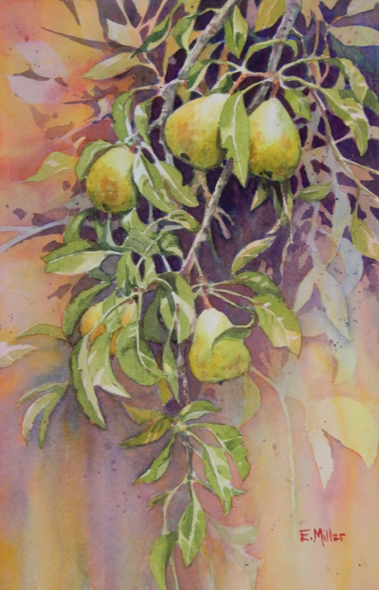 """Eric Miller #10 """"Old Pear Tree"""" $275.00"""