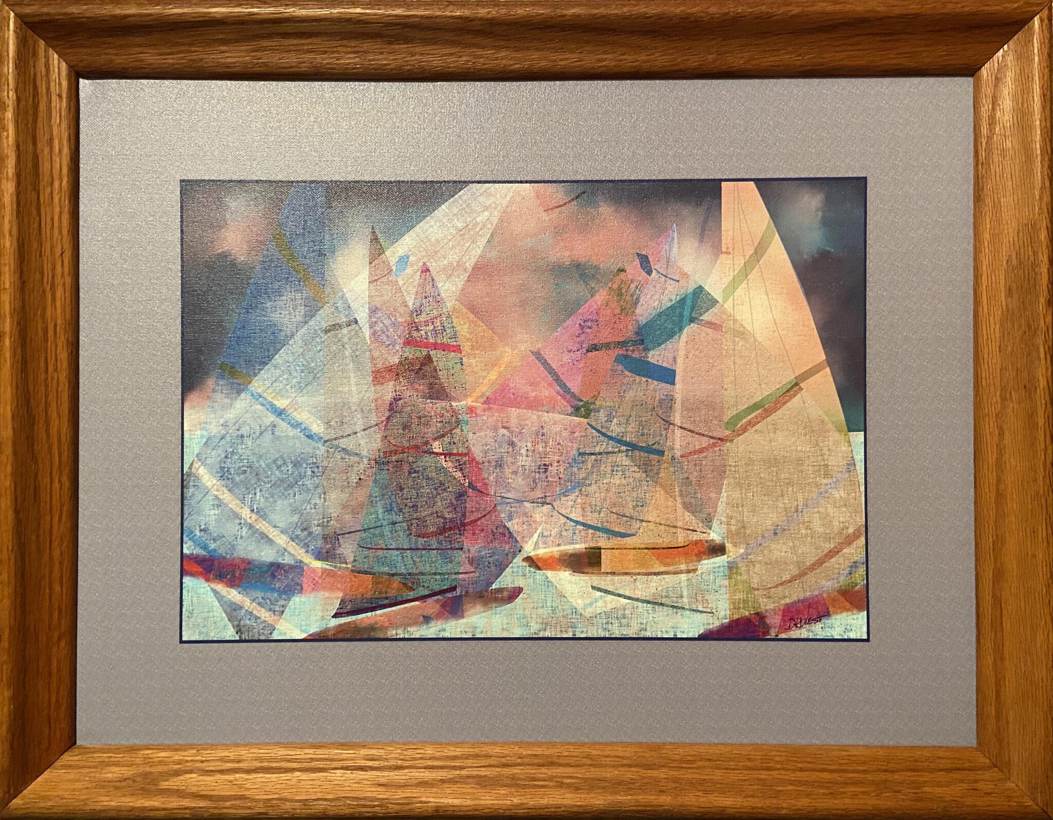 """Douglas West #203 """"Sailstrom"""" $450.00"""