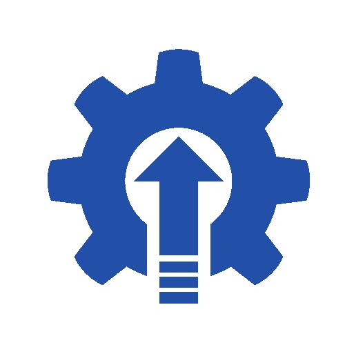Gear and error icon