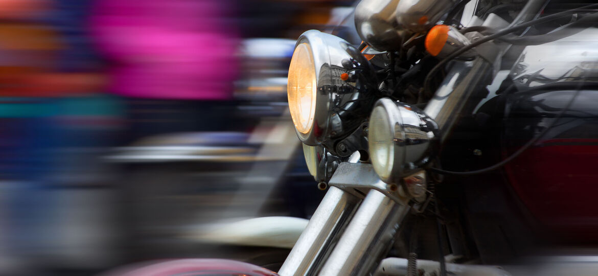 motorcycle accidents caused by cars