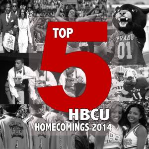 TOP 5 HBCU HOMECOMINGS