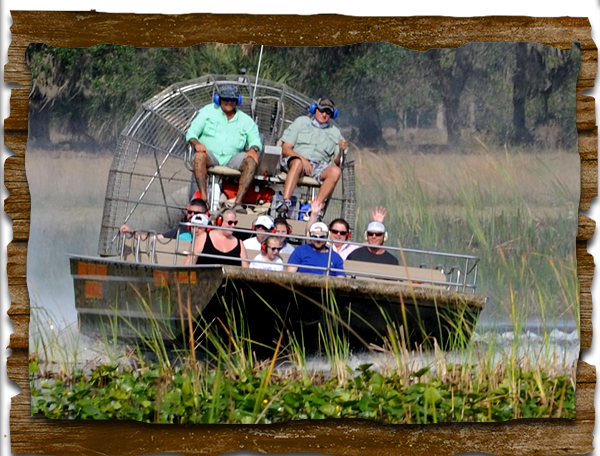 1-2 hr tour Tour Boggy Creek Airboat Tours 3