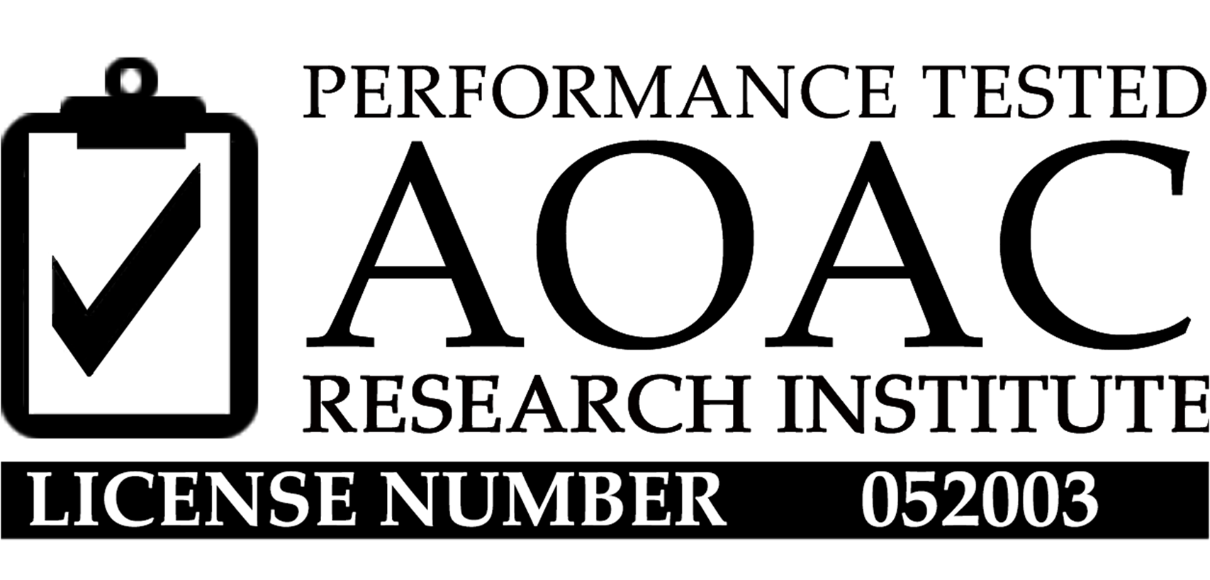 Performance Tested AOAC Research Institute, License Number 052003, Listeria Assay