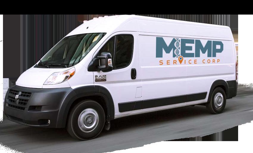 MEMP Service Corp van