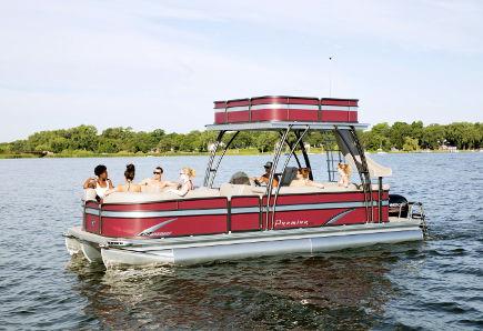 Okanagan Double Decker Pontoon Boat Rental