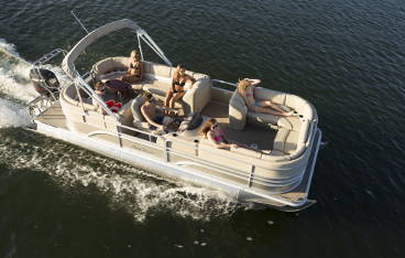 24' Sunchaser Pontoon Boat