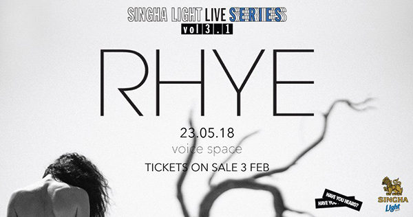 SINGHA LIGHT LIVE SERIES VOL 3.1 RHYE