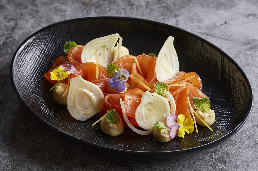 Marinated Ora Salmon Carpaccio (2)
