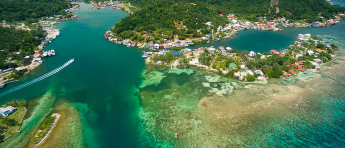Island real estate for sale in Roatan