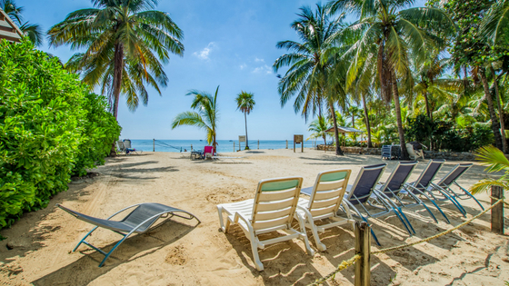 Vacation in Roatan West Bay Beach