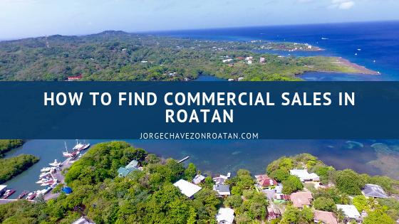 Sales in Roatan