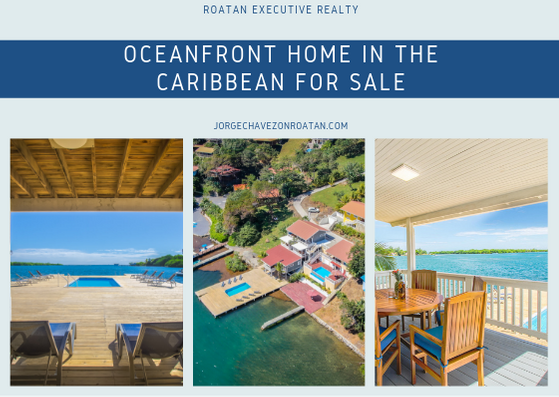 Roatan Oceanfront Home MLS 19-70