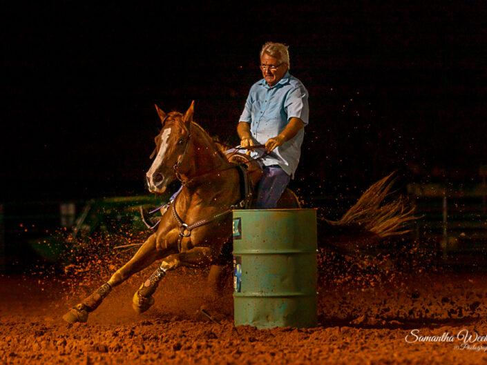 Nighttime Barrel Races
