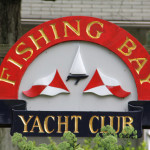 Fishing Bay Yacht Club sign