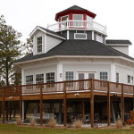 Lighthouse style home